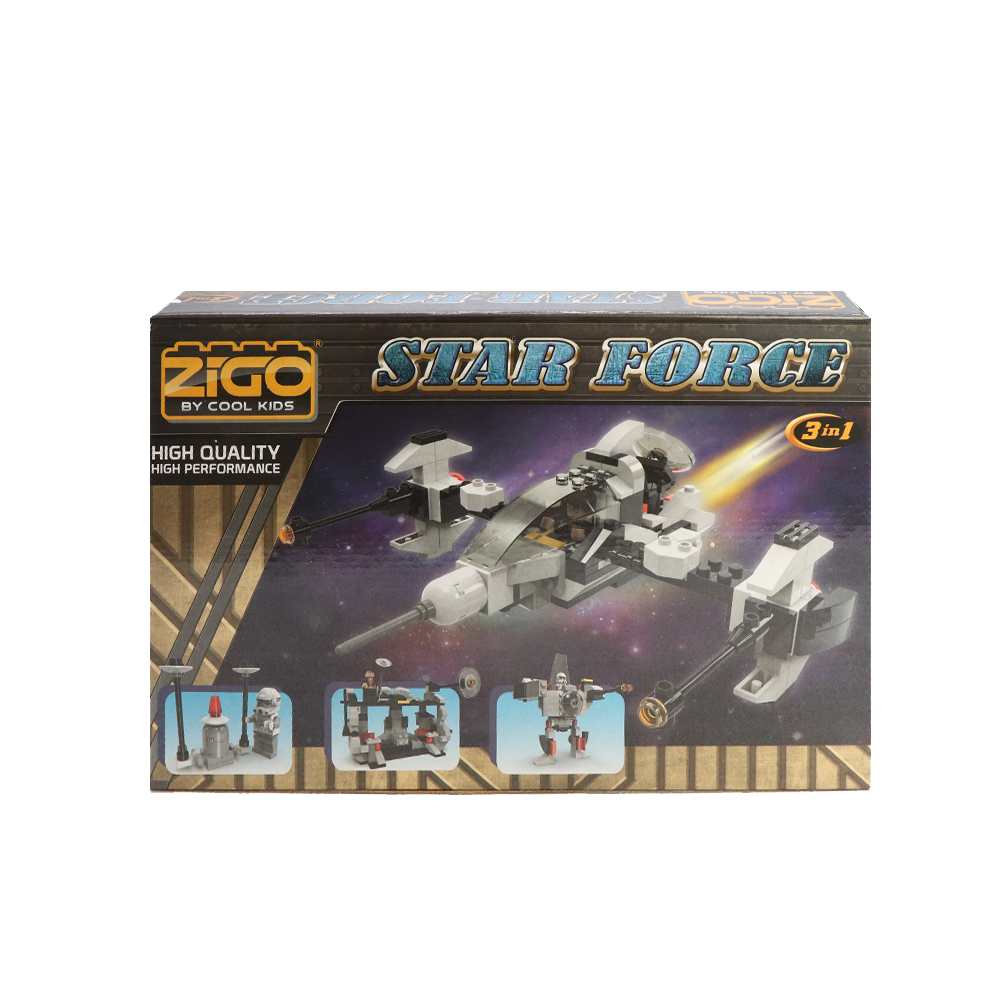 ZIGO Star Force Building Blocks
