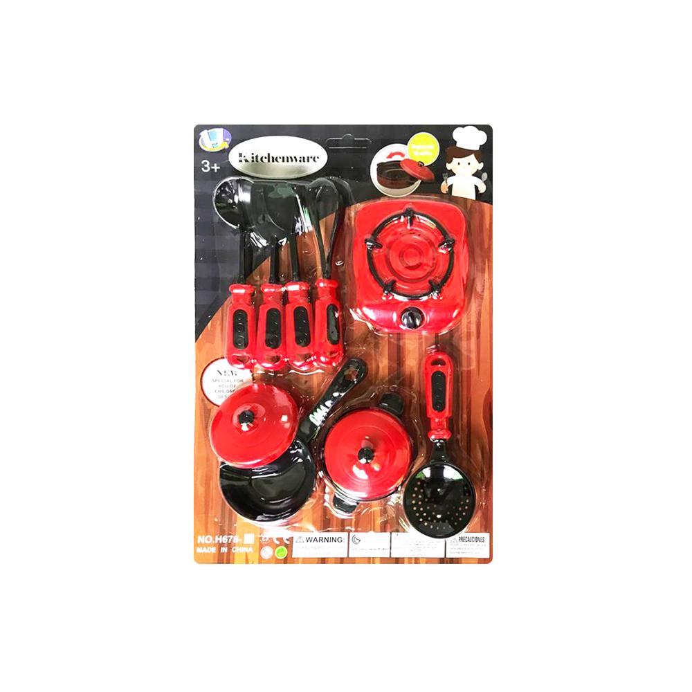 Red/Black Kitchenware, Big Casserole