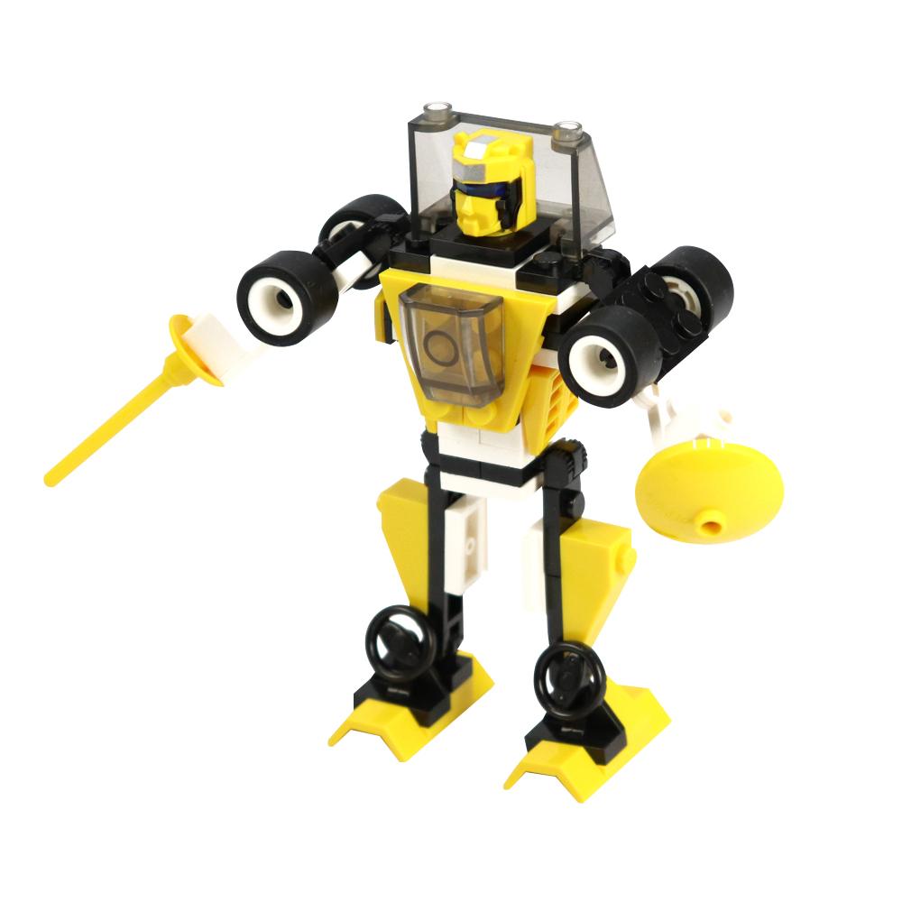 6pcs ZIGO Planet Robot Building Blocks