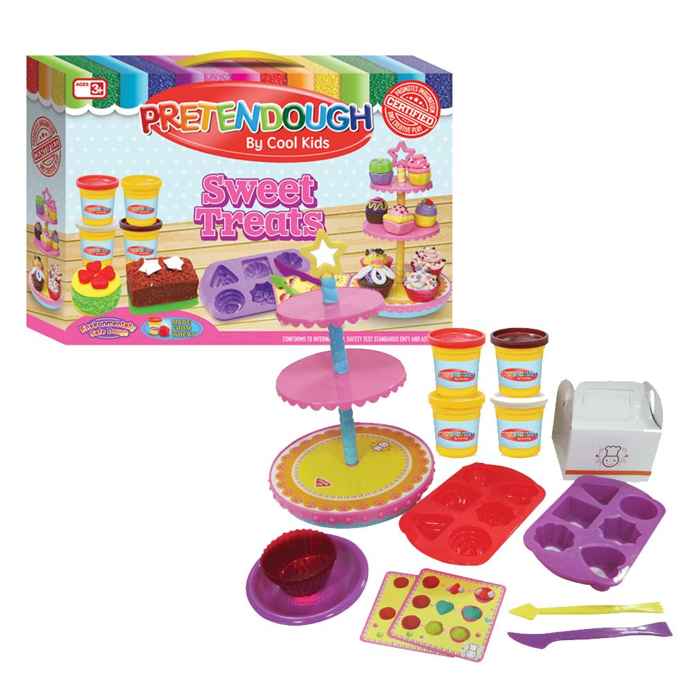 Pretendough Sweet Treats Playset