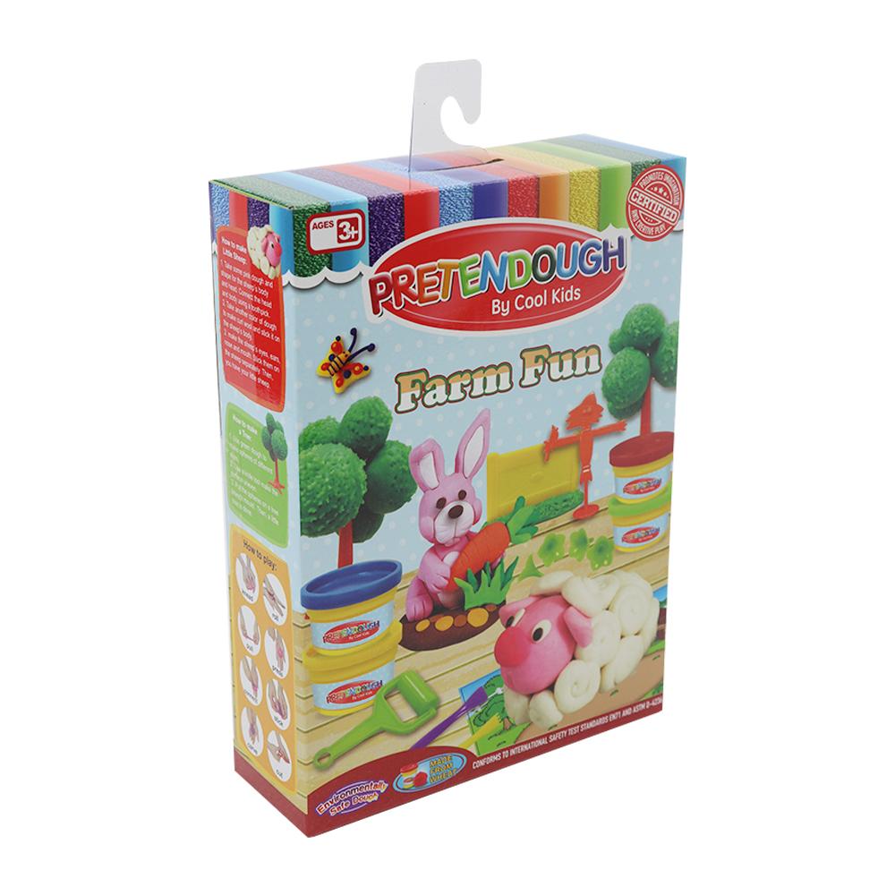 Pretendough Farm Fun Playset