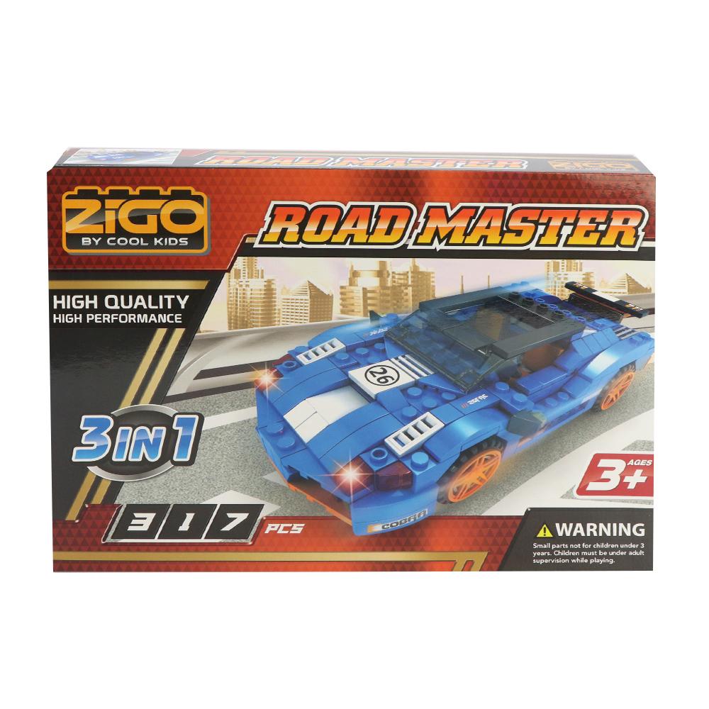 ZIGO 3 in 1 Road Master Building Blocks