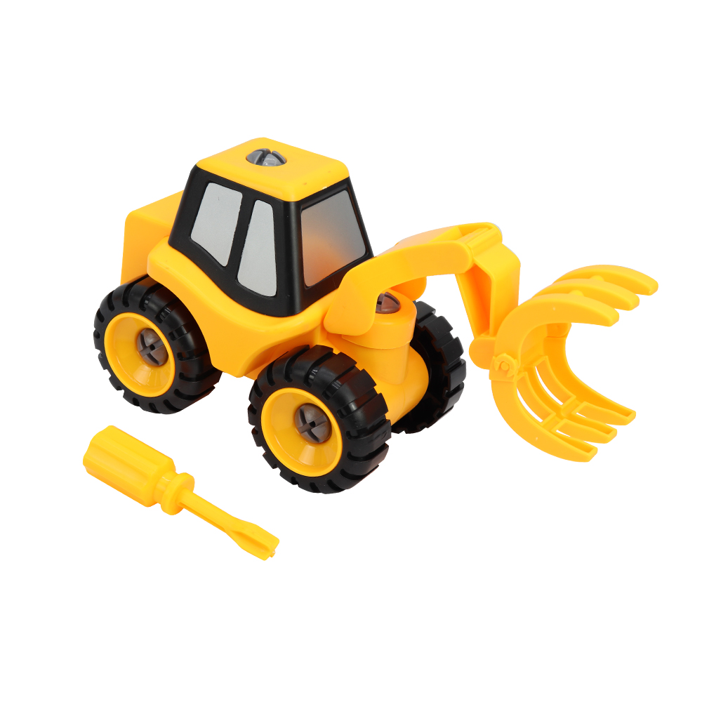 DIY Clamp Excavator Construction truck