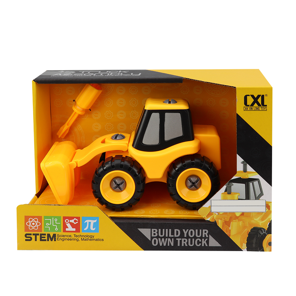 DIY Front Loader Construction Truck